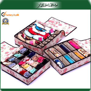 Customized Design Pattern Printed Organizer Box with Dividers pictures & photos