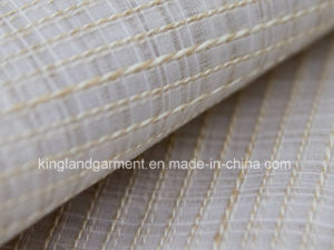 Polyester Pigtail Yarns Wide Width Inherently Fire Retardant Fireproof Voile pictures & photos