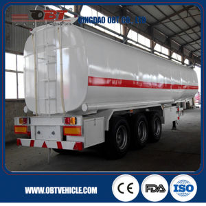 Petroleum 45000L Steel Fuel Tanker Semi Trailer Export to Tanzania pictures & photos