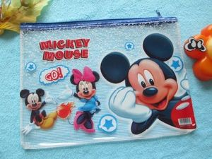 2016 Durable Cute Clear PVC Stationery Bag for Student pictures & photos