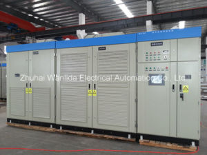 Medium voltage variable frequency drive for ventilation fan