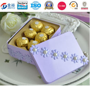 Chocolate Tin Box Wholesale Wedding Gift Box for Wedding Gift pictures & photos