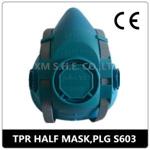 Reusable Double Cartridge Chemical Half Gas Mask Respirator pictures & photos