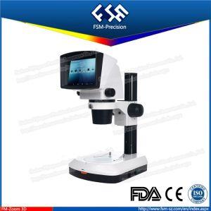 FM Zoom 3D Monocular LED Light 3D Stereo Zoom Microscope