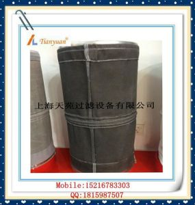Carbon Black Non Alkali Fiberglass Filter Bag with E-PTFE pictures & photos