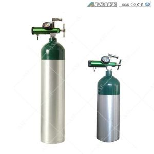 Alsafe Aluminum Medical Oxygen Gas Cylinder Pressure pictures & photos