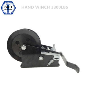 3300lbs Hand Winch Zinc Palted+Powder Coating pictures & photos