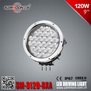 9 Inch 120W Round CREE LED Car Work Driving Light for Heavy Duty SUV (SM-9120-RXA)
