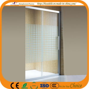 One Side Sliding Glass Door for Bathroom (ADL-8A3) pictures & photos