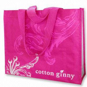 Promotional Fashion Waterproof Non-Woven Handbags Shopping Bag (LJ-377)