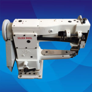 Used Golden Wheel Single Needle Compound Feed Cylinder-Bed Sewing Machine (CS-8703) pictures & photos