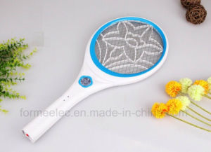 Rechargeable Electric Mosquito Swatter J018 with LED pictures & photos
