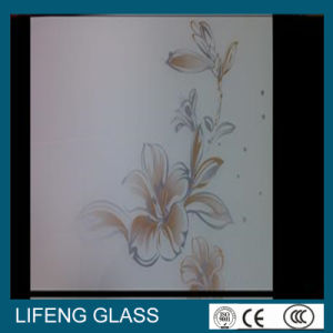 Silk Screen Printed Glass for Building Decoration Furniture