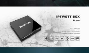 Hot Selling Android OS Qual Core IPTV TV Box Support Youtube & Netflix pictures & photos