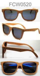 Polarized Natural Handmade Wooden Bamboo Sunglasses with Customer Brand pictures & photos
