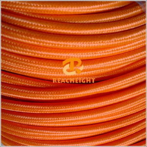 PVC Insulated Electrical Wire Textile Power Cord pictures & photos