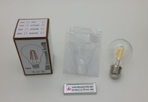 2015 Edison 6W A60 A19 Dimmable LED Filament Bulb with CE RoHS (BLF060-061)