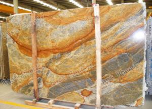 Top Quality Golden Granite Slab for Building Materials pictures & photos