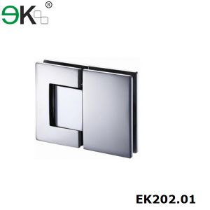 Stainless Steel Glass Shower Door Hydraulic Pivot Hinge pictures & photos