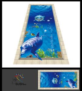 Dolphin Sharks 3D Floor Sticker pictures & photos