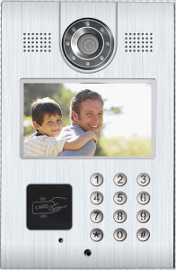 "Digital 7"" TFT LCD Monitor Color Video Door Phone Intercom Doorbell Home Security pictures & photos"