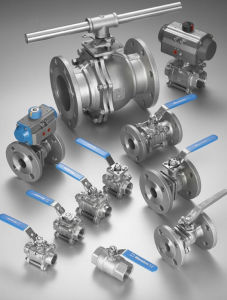 ANSI 150lb Forged Steel Ball Valve with Flanged pictures & photos