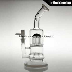 Made of Thick Glass Water Pipe for Smoking Colored Hand Blown Waterpipes Hookah pictures & photos
