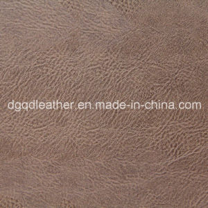 Top Selling Fashion Semi-PU Furniture Leather (QDL-51077) pictures & photos