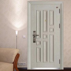 European Style White Armored Door pictures & photos