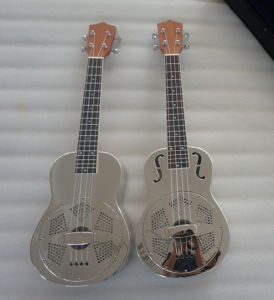 BV/SGS Certificate Supplier---China Aiersi Reso-Uke Concert Reso-Uke Body with Tenor Size Neck pictures & photos