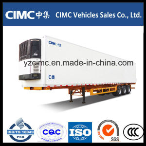 Cimc Tri-Axle 40FT Refrigerated Semi Trailer Refrigeration Truck pictures & photos