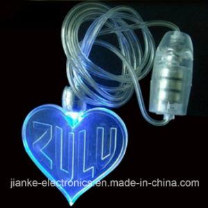 Christmas LED Flashing Wholesale Necklace with Logo Print (2001)