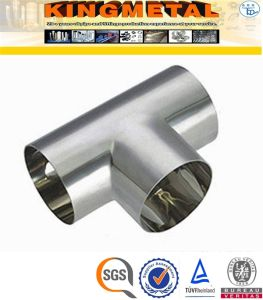 Stainless Steel A403 Gr Wp321h Equal Tees Pipe Fittings pictures & photos