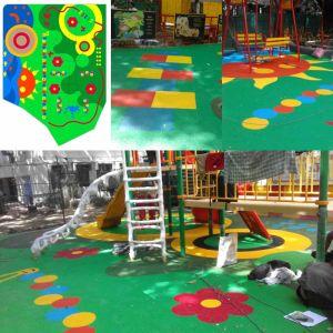 Colorful EPDM Rubber Granule (KE02 Green) pictures & photos