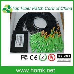 Sc APC 1*32 Black Pigtail Cable Pls Splitter pictures & photos