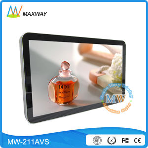 22 Inch LCD Advertising Display Player with USB SD Card (MW-211AVS) pictures & photos