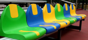 Popular Colorfull PP Plastic Gym Seats / Stadium Chair Seat for Sale pictures & photos