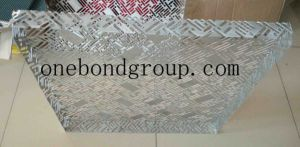 Beautiful with CNC Mechanical Turret Punch Press Perforated Aluminum Panel for Curtain Wall Decoration pictures & photos