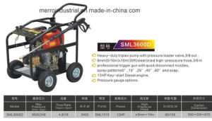 3600 High Pressure Washer and High Pressure Cleaner pictures & photos