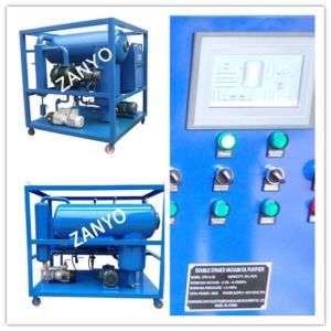 High Automatization Single Stage Vacuum Transformer Oil Filtration Machine pictures & photos