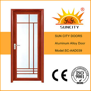 Low Price Single Aluminum Alloy Doors for Toilet (SC-AAD039) pictures & photos