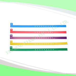 Hospital Plastic Wristband with Tail (8060-1) pictures & photos