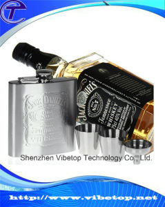 Customized Empty Stainless Steel Flagon Vf-101 pictures & photos