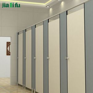 Jialifu Decorative Compact HPL Hospital Toilet Partition pictures & photos