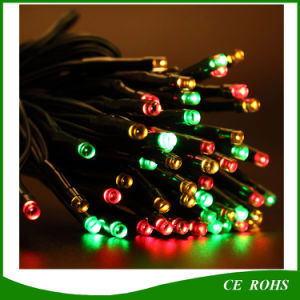 100LED Tube Shape Colorful Solar String Light for Garden Decorate pictures & photos
