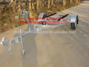 Factory and Manufacturer Made Sale 4.5m Boat Trailer with Bunk System pictures & photos