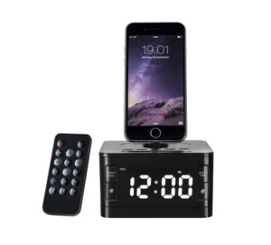 Hotel Alarm Clock Docking Station with Snooze & Sleep Functions pictures & photos