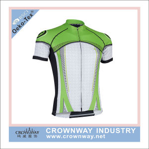 Dry Fit Blank Cycling Jersey Shirt for Men pictures & photos