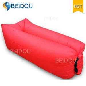 LED Lighted Square Lazy Sofa Inflatable Air Bed Sleeping Bag pictures & photos