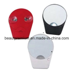 Cosmetic Mirror with suction  Cup Pocket Mirror Single Side Mirror with LED Light L′oreal Audit Mirror BPS001 pictures & photos